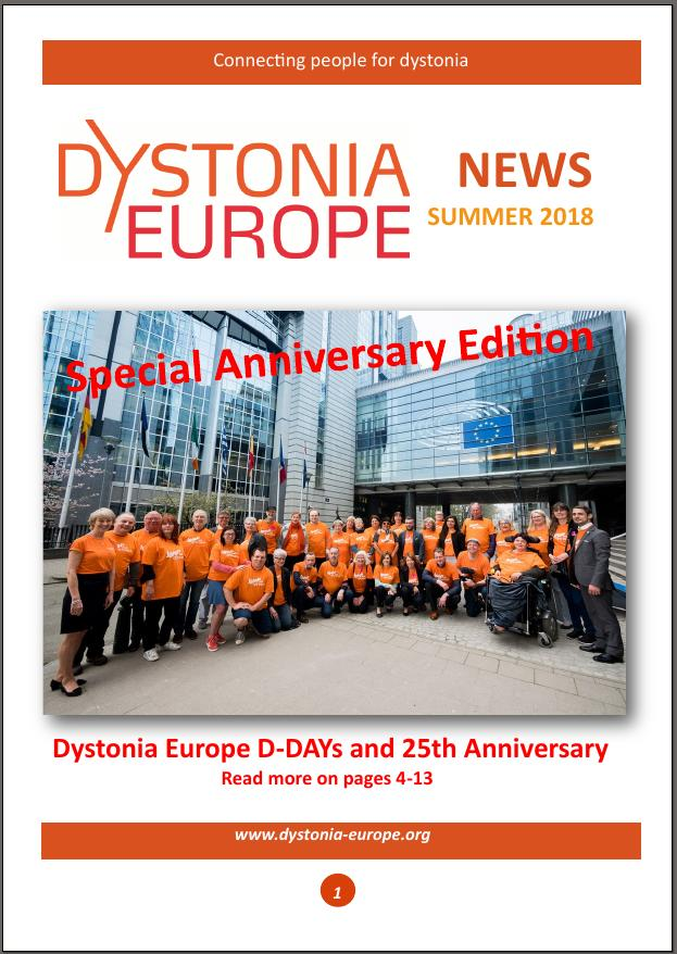 Newsletter di Dystonia Europe