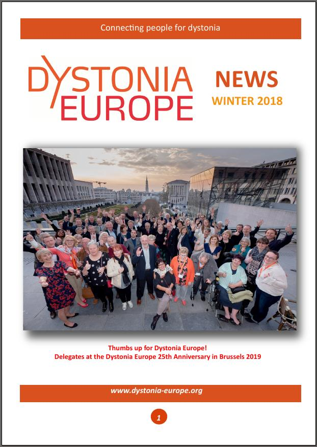 Dystonia Europe Newsletter